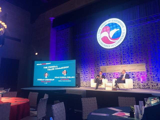 #DATA DONE RIGHT Summit on Data Privacy held at the US Chamber of Commerce